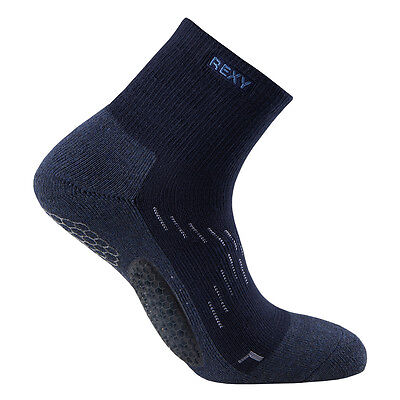 Rexy men Functional Balance voltlon golf ankle Socks GF6G-06 navy crwe socks