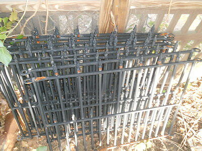 Vintage Cast Aluminum Porch Ornate Fence & Garden Decor ....12' X 9' Feet Square