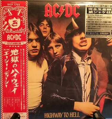 AC/DC HIGhWAY TO HELL JAPAN MINI LP CD NEW
