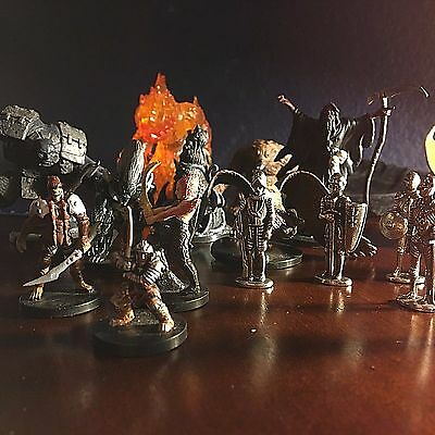 18 MINIATURES LOT Advanced Dungeons & Dragons TSR RPG 2004 2005 2006 Wizards D&D