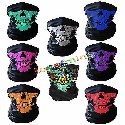 Novel Skull Bandana Outdoor Bike Casque de moto Casque Masque de ski