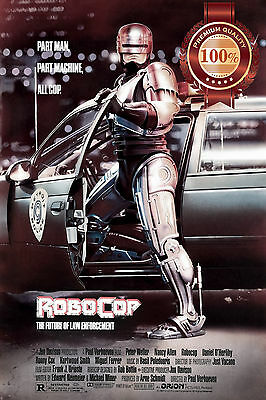 NEW ROBOCOP ORIGINAL CLASSIC RETRO 80s 1987 FILM MOVIE ART PRINT PREMIUM POSTER