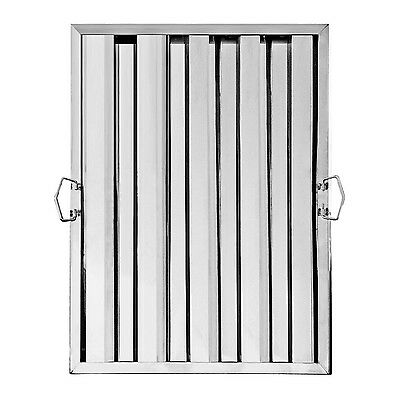 """New Star Foodservice 54392 Stainless Steel Hood Filter 20"""" x 25"""""""