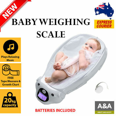 Baby Infant Scales | PREMIUM Digital Pediatric Weigh Scales for Tracking Infants