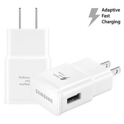 100x OEM Samsung Galaxy US Fast Wall Charger Adaptive Fast Charging For S7 S6