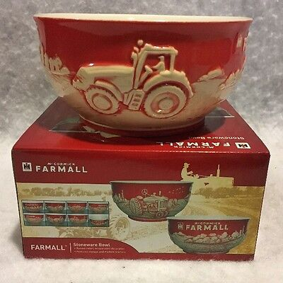 New International Harvester/IH Farmall Stoneware Kitchen Cereal Bowl 6""