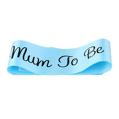 Baby Shower Mum To Be Vintage Style Personalised Elegant Sash Mothers' Day Gift