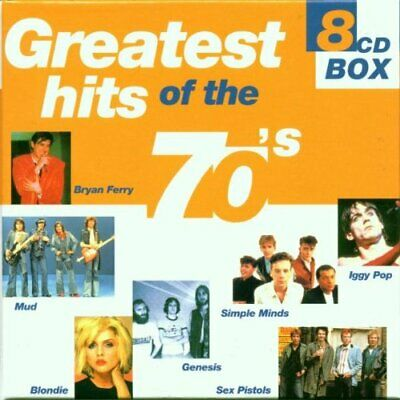 Various - Greatest Hits of the '70s - Various CD KKVG The Cheap Fast Free Post