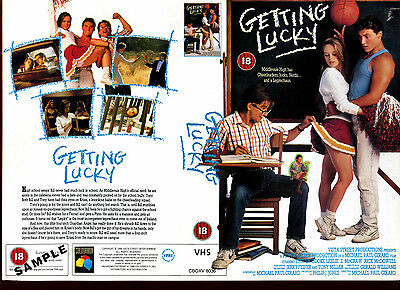 Getting Lucky - Rick McDowell - Video Promo Sample Sleeve/Cover #17632