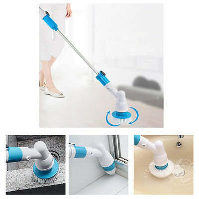 Rechargeable Fast Spin Scrubber Home Power House Handheld Cordless Cleaner Brush