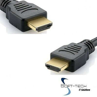 2m Premium Gold HDMI High Speed Cable Lead for LCD HDTV 3D Playstation Xbox DVD