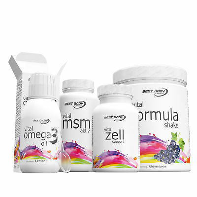 (107,55 €/1kg) Best Body Nutrition Stoffwechselkur Set