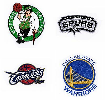 FREE SHIPPING NBA Golden State Warriors Iron On Fabric Applique Patch Logo DIY