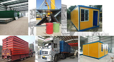 Foldable Modular Home - House - Prefab - Container 20""
