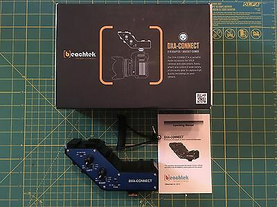 BeachTek DXA-CONNECT XLR Adapter Bracket Combo for DSLR Cameras Camcorders USED
