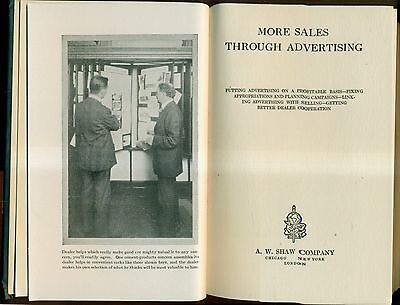 1919 More Sales Through Advertising - Shaw Selling Series - A.W. Shaw Company