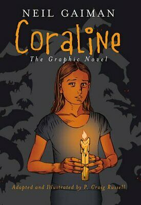 Coraline by Gaiman, Neil Paperback Book The Cheap Fast Free Post