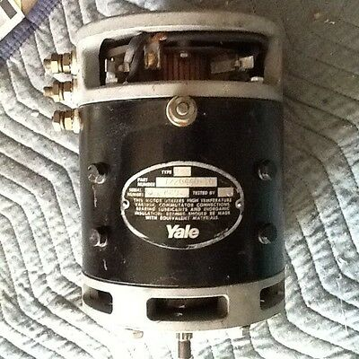 YALE Electric Lift Truck Motor 72204400-10 DC Forklift DRIVE MOTOR Multi Voltage