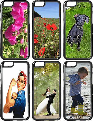 Personalised Phone Case Cover for iPhone 6 7 8 X also S8 Silicone Custom Photo