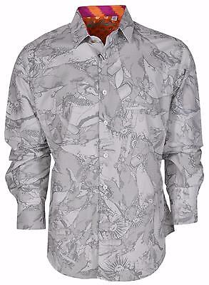 NEW Robert Graham Classic Fit OTTOMAN LAW Numbered Limited Edition Sport Shirt