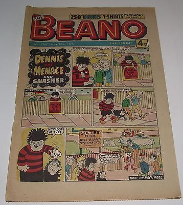 VINTAGE THE BEANO COMIC #1767 MAY 29th 1976