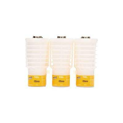(3) Citrus Scent TCell Rubbermaid Air Freshener Odor Control Refill FG402113