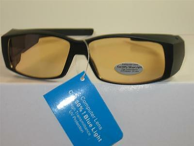 Computer Over Glasses Anti Reflective Tinted Lens Uv Protection