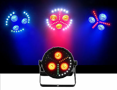 Chauvet DJ FXPar 3 Quad Color RGB+UV SMD LED Par Can Wash Light Effect w/Strobe