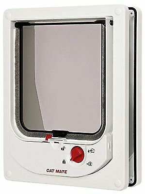 Cat Mate Electromagnetic Cat Flap - White
