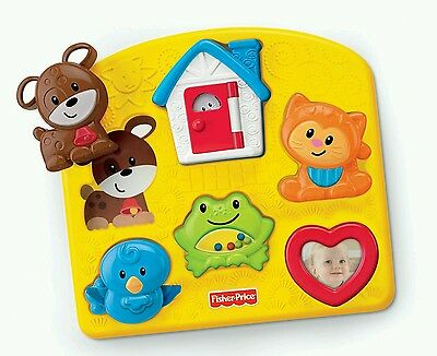 Fisher Price Animal Activity Puzzle Baby Educational Toy