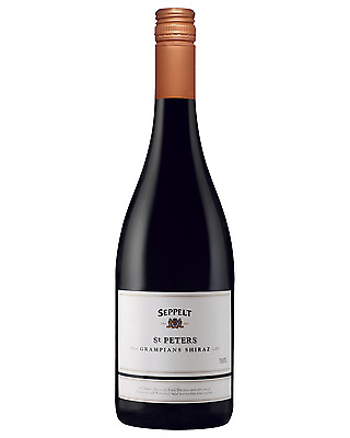 Seppelt St Peters Great Western Shiraz 2008 case of 6 Dry Red Wine 750mL