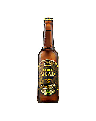 Medovarus Organic Traditional Sparkling Light Mead 330mL case of 24 Cider