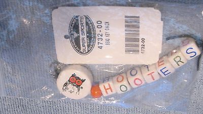 Hooters Restaurant Collectable Bead Key Chain