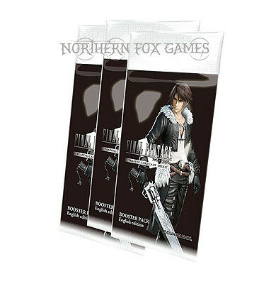 FINAL FANTASY TRADING CARD GAME TCG Opus II Booster 3 x Packs English Version