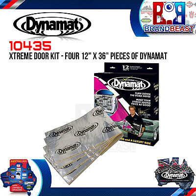 Dynamat Xtreme Door Kit 10435 Sound Deadner