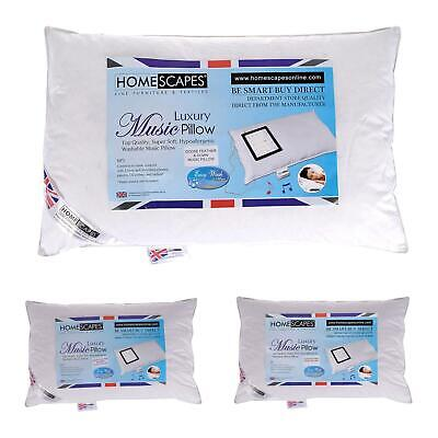 Get Sound Asleep with Homescapes Washable Music Pillows with Speaker iMusic