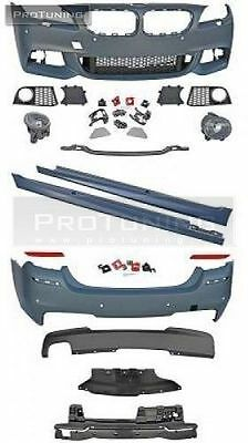 NEW M Sport style bodykit bumpers set sideskirts m-tech m package foglights fogs