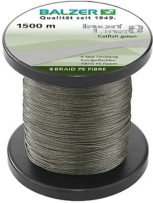 Power Pro 135m 0,06mm 3kg Moos Green Grün PP Braided Line Round NEW OVP