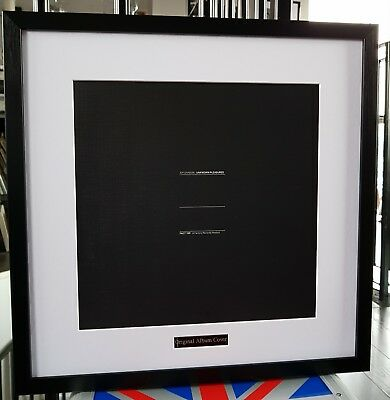 Joy Division-Unknown Pleasures-Framed Original Album Cover-Ian Curtis-Hacienda