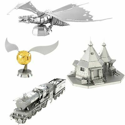 Metal Earth Harry Potter 3D Laser Cut Metal Miniature Model Kit Hogwarts Express