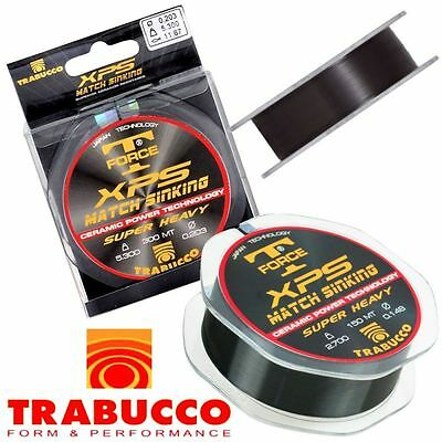 Match Fishing Line TRABUCCO T-FORCE XPS MATCH SINKING 150m. or 300mt.