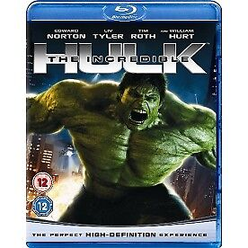 Incredible Hulk Blu Ray