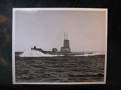 Vintage US Navy 8 x 10 Press Photo USS Piper SS-709 New London Based 209