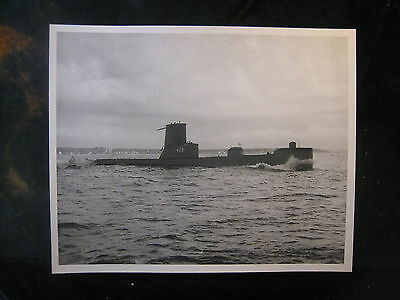 Vintage US Navy 8 x 10 Press Photo USS Sea Owl SS-405 204