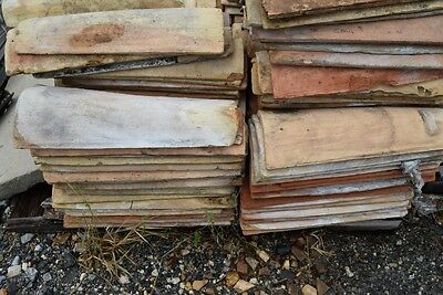 Large Lot of Mission/Canal Roof Tile 3,000+ Reclaimed French
