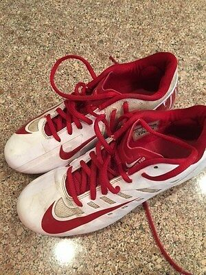 Men's Nike Lacrosse Cleats US size 6.5 with STX Elbowpad & Warrior Head Included