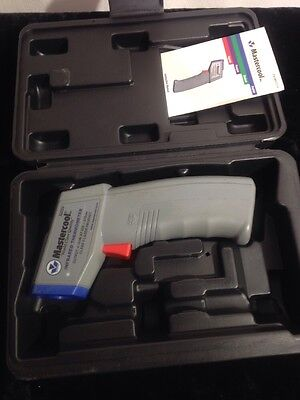 Mastercool (52224) Gray Infrared Thermometer with Laser