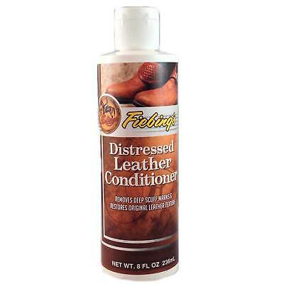 Fiebing's Distressed Leather Conditioner Treatment - Remove Stains and Restore