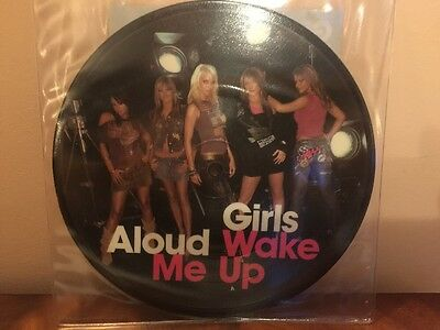 """Girls Aloud 7"""" The Promise Picture Disc Vinyl"""