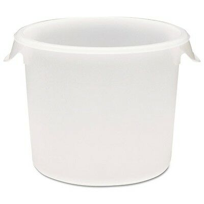 Rubbermaid Commercial Round Storage Containers - 5723WHI